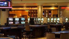 赌场酒店las palazzo维加斯 免版税库存照片