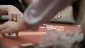 赌客在赌博娱乐场 影视素材