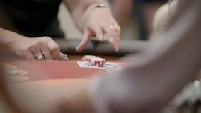 赌客在赌博娱乐场 股票录像