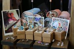 赖买丹月市场wandi穆斯林市场 免版税库存图片