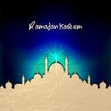 赖买丹月的Kareem创造性的清真寺 库存照片