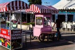 赖买丹月节日地区在亚洛瓦市-土耳其 免版税图库摄影