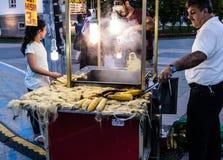 赖买丹月节日地区在亚洛瓦市-土耳其 免版税库存图片