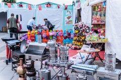 赖买丹月节日地区在亚洛瓦市-土耳其 库存照片
