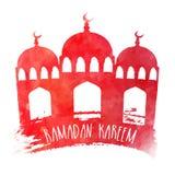 赖买丹月Kareem庆祝的清真寺 免版税库存照片