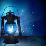 赖买丹月Kareem背景 ramadan的灯笼 库存照片