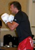 赖安Bader UFC战斗机 免版税图库摄影