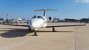 赛斯纳飞行器公司引证野马,设计510 库存图片