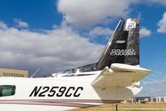 赛斯纳飞行器公司208B全部有蓬卡车 库存照片