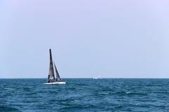 赛船会在暹罗湾 免版税库存照片