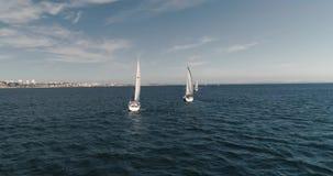赛船会在海 影视素材