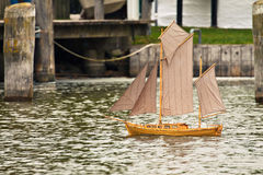 赛船会帆船 库存照片