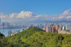 赛西尔的香港Ride先生景色  免版税库存图片
