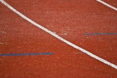 赛跑与编号的运输路线 图库摄影