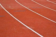 赛跑与编号的运输路线 免版税图库摄影
