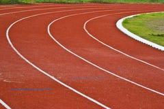 赛跑与编号的运输路线 免版税库存图片