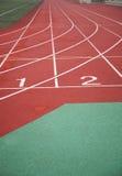 赛跑启动跟踪 免版税库存图片