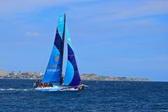 赛跑富豪集团海洋种族阿利坎特的Vestas第11个小时2017年 库存图片