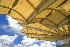 赛跑屋顶sepang的电路 免版税库存图片