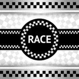 赛跑新的背景 免版税图库摄影