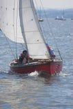 赛跑的游艇 库存图片