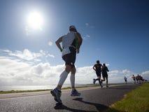 赛跑者三项全能 免版税库存照片
