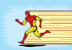 赛跑者超级英雄 图库摄影