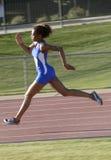 赛跑者跟踪 库存图片