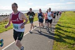 赛跑者,马拉松 库存图片