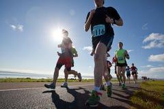 赛跑者,马拉松 图库摄影