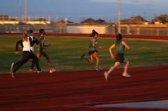 赛跑者 库存照片