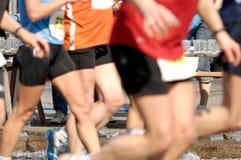 赛跑者水 库存图片
