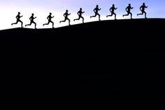赛跑者 库存图片