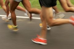 赛跑者 图库摄影
