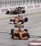 赛跑Izod Indycar系列 库存图片