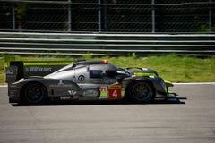 赛跑LMP1原型测试的ByKolles在蒙扎 免版税库存照片