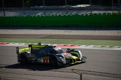 赛跑LMP1原型测试的ByKolles在蒙扎 库存照片
