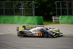 赛跑LMP1原型测试的ByKolles在蒙扎 免版税库存图片