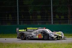 赛跑LMP1原型测试的ByKolles在蒙扎 库存图片