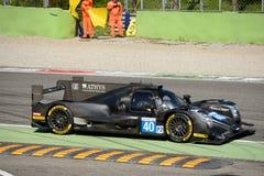 赛跑Oreca勒芒原型的格拉夫在蒙扎 免版税库存图片