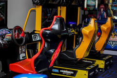 赛车比赛 免版税图库摄影