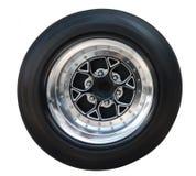赛车的轮子 库存图片