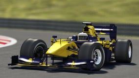 赛车跟踪 免版税图库摄影