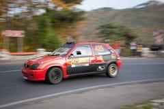 赛车,罗马尼亚 免版税库存照片