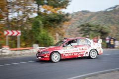 赛车,罗马尼亚 图库摄影