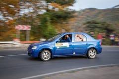 赛车,罗马尼亚 免版税库存图片