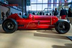 赛车Maserati 6C-34, 1934年 免版税库存照片