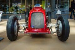赛车Maserati 6C-34, 1934年 图库摄影