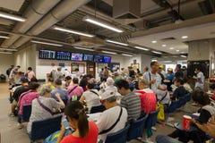 赛马季节在香港开始 免版税库存照片