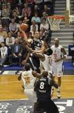 赞成篮球 免版税库存照片